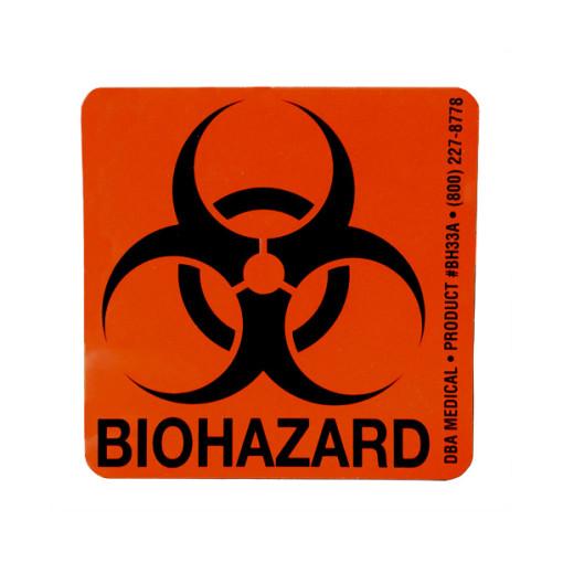 Biohazard Label Doug Brown Amp Associates Db Medical